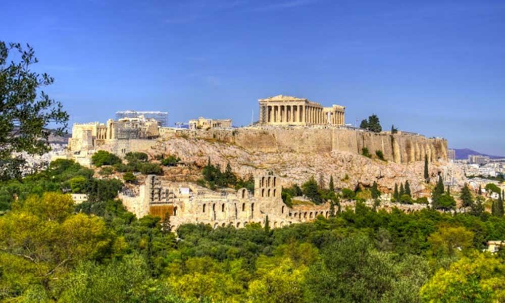 Ville d'Athènes en Grèce