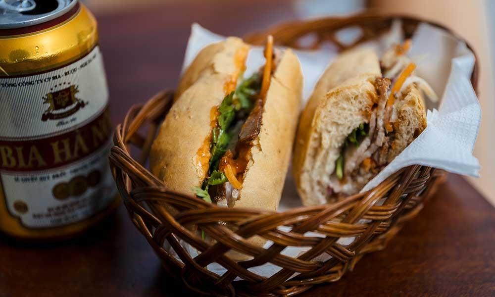 Sandwich Banh Mi du Vietnam