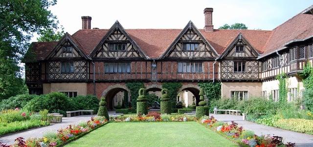 Chateau de Cecilienhof Postdam en Allemagne