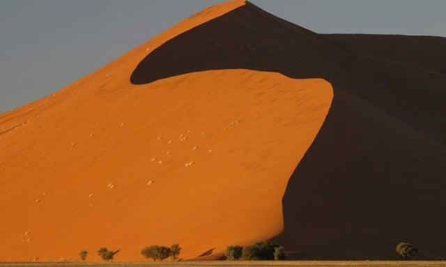 Desert du Namib en Namibie