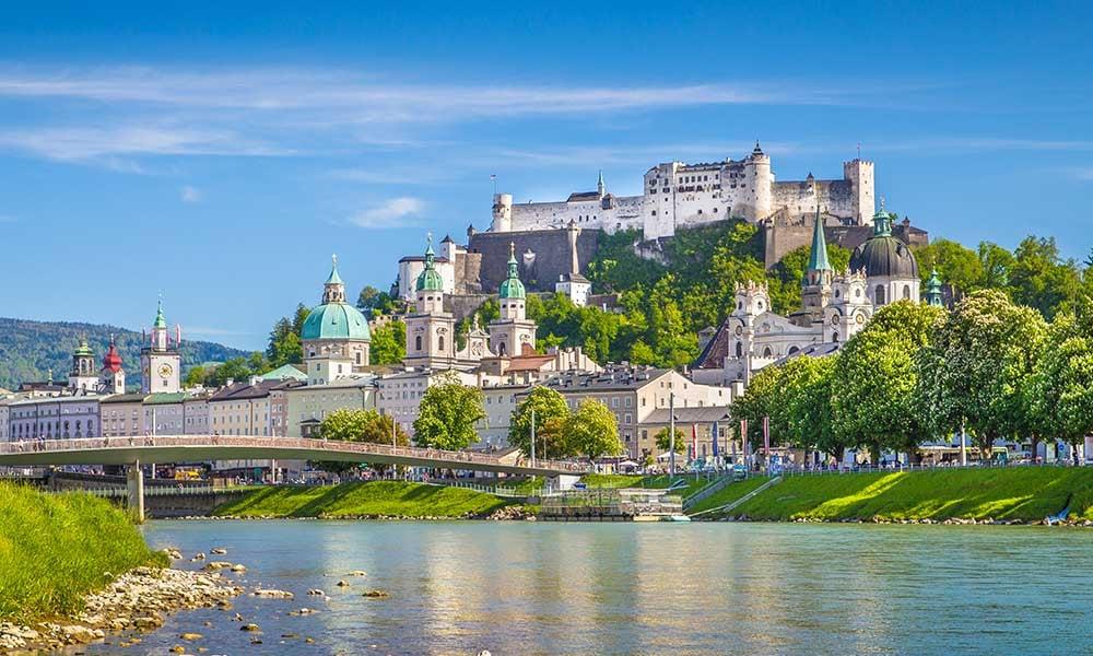 Salzburg en Autriche