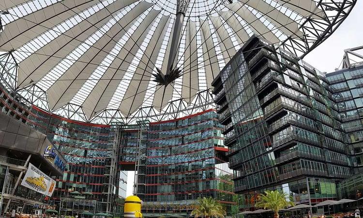 Le Sony Center à Berlin