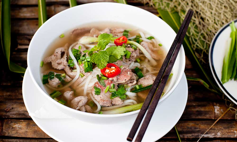 Soupe pho du Vietnam