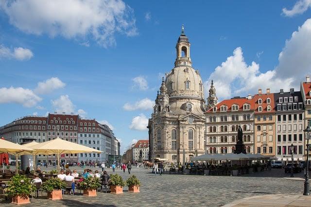 Ville de Dresden en Allemagne