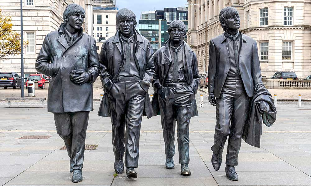 Sculpture-Beatles-Liverpool