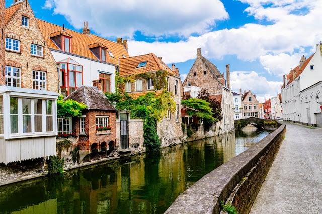 Ville de Bruges en Belgique