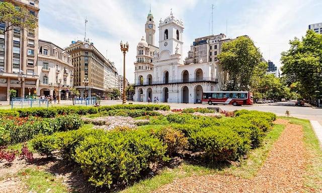La place principale à Buenos Aires