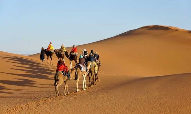 le désert du Sahara au Maroc