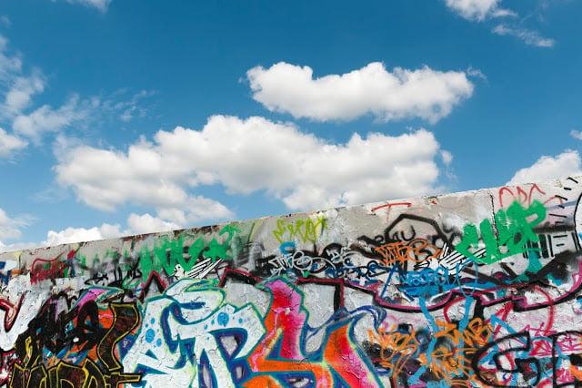 Section du mur de Berlin