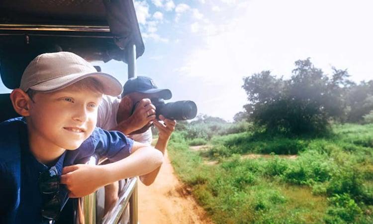 Safari africain en famille