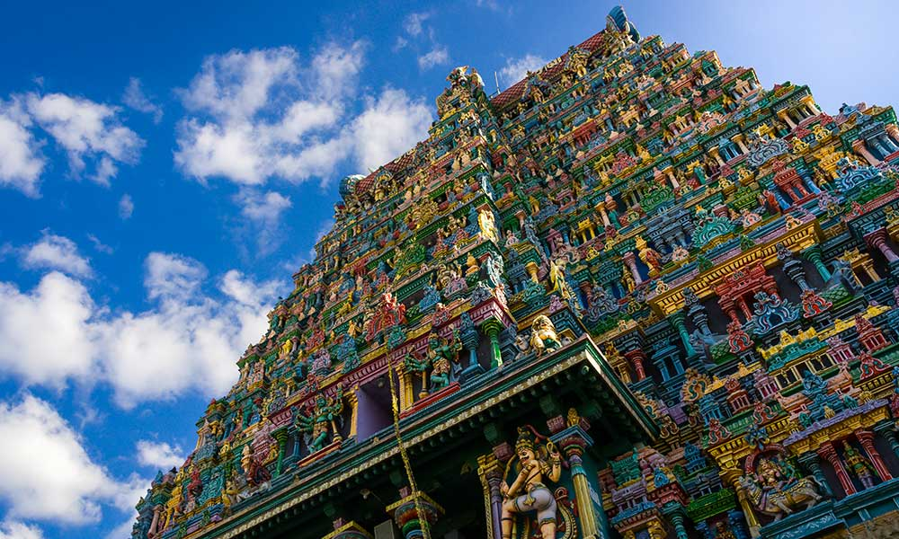 Temple Sri Meenakshi en Inde
