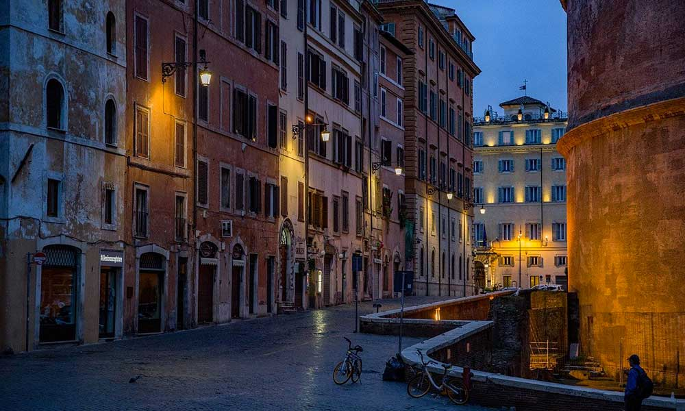 voyages-traditours-Italie-Rome-soiree
