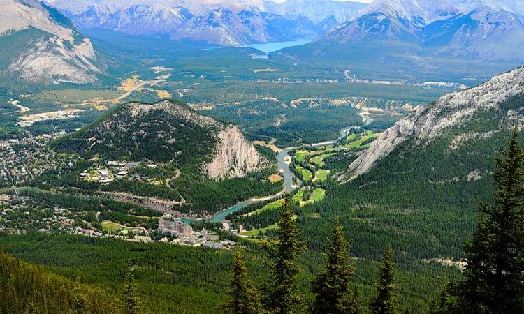 Traditours-Banff-mont-Sulphur