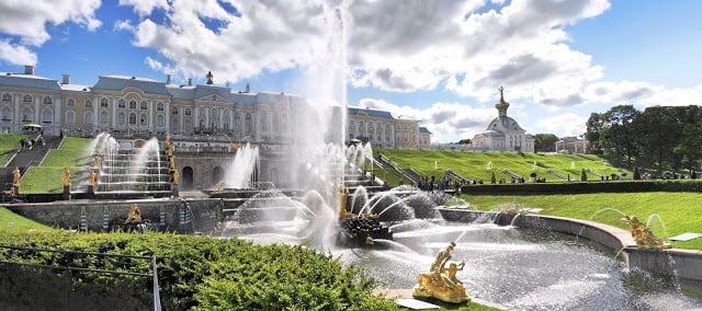 Saint-Petersbourg en Russie