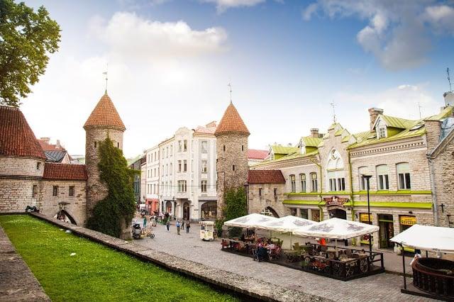 Vieille ville de Tallinn en Estonie