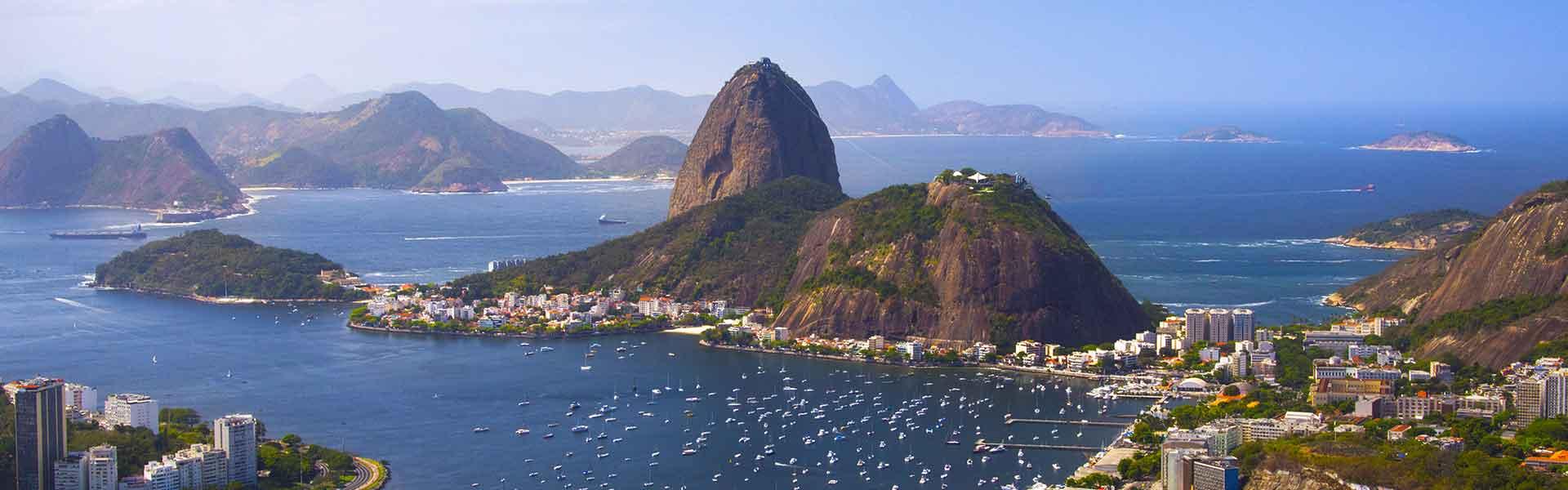 Vue de Rio de Janeiro au Brésil