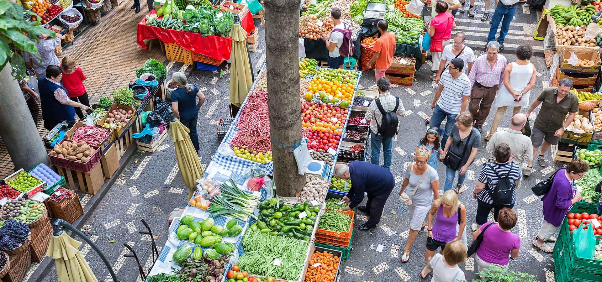Portugal-marché-produits gourmands