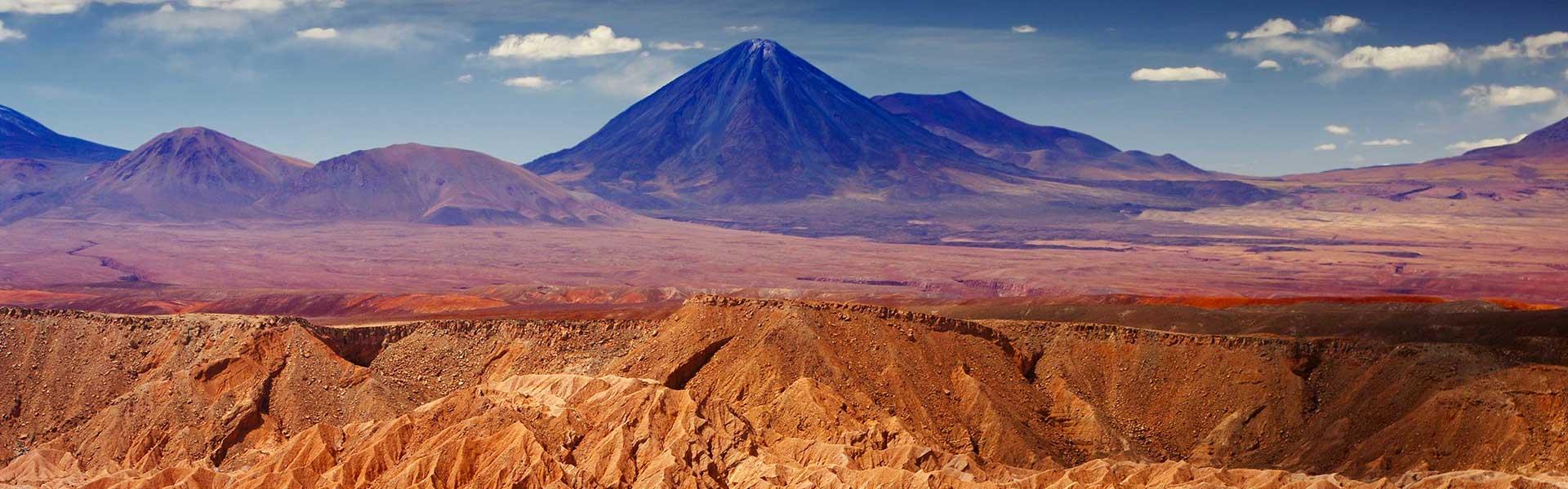 La vallée de la Lune au Chili