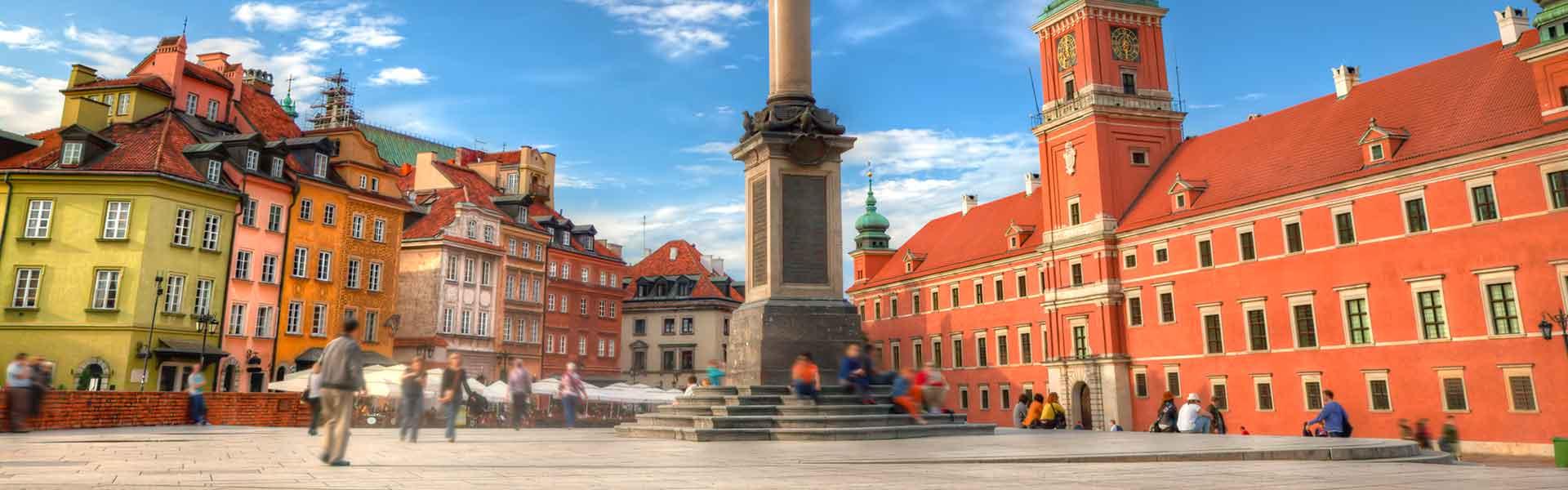 La vieille ville à Warsaw