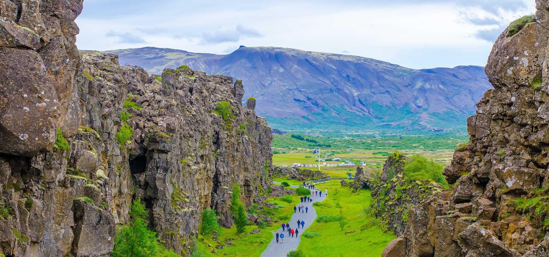 Islande-Parc national-Thingvellir
