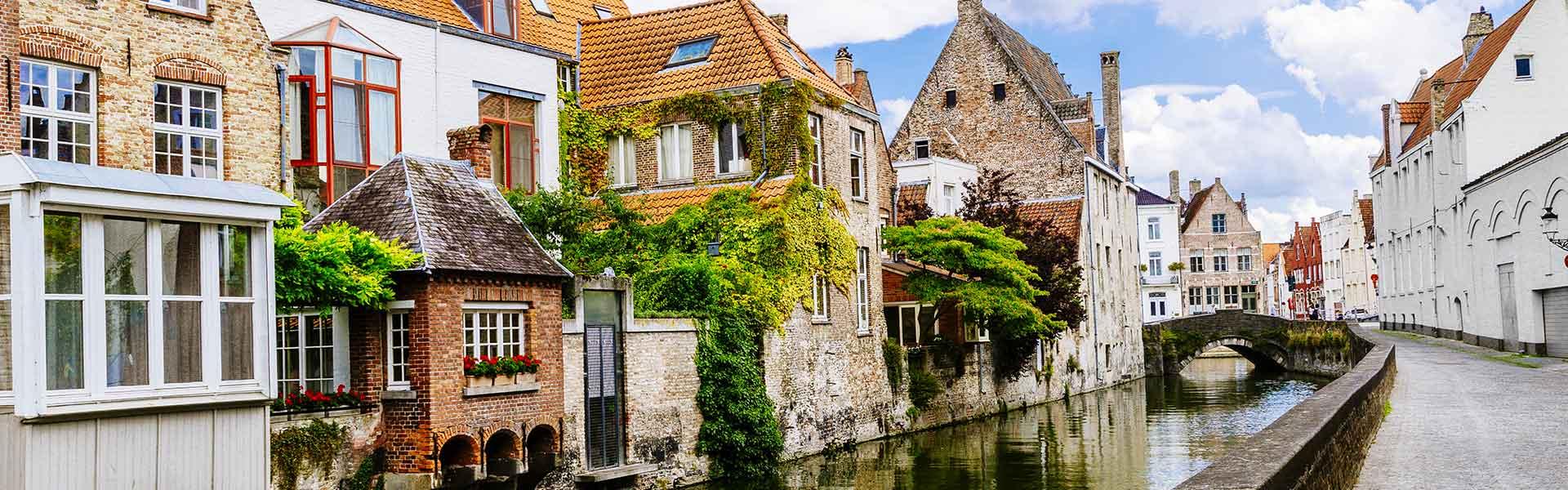 Canal de Bruges en Belgique