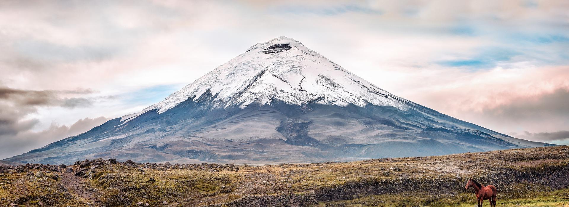 Le volcan Cotopaxi en Équateur