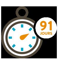 Icone 91 jours